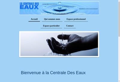 Site internet de La Centrale des Eaux