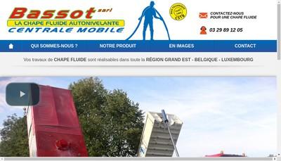 Site internet de Bassot
