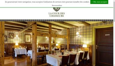 Site internet de La Cour des Chasseurs