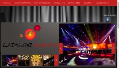 Site internet de Ladistrib Events