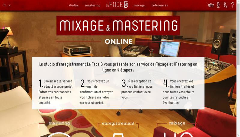 Capture d'écran du site de Lafaceb