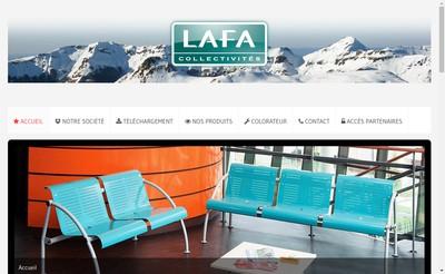 Site internet de Lafa Collectivites