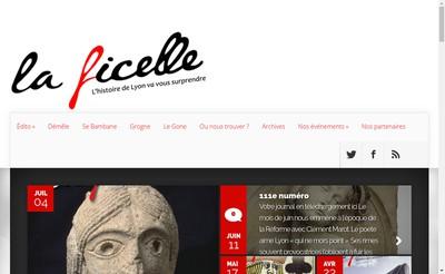 Site internet de La Ficelle