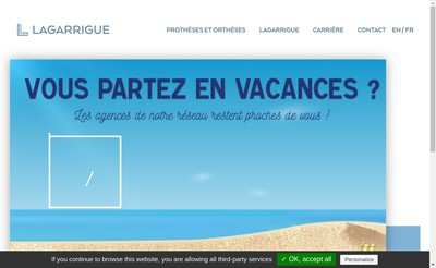 Site internet de Lagarrigue SAS