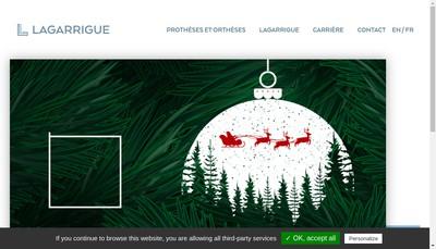 Site internet de Lagarrigue SAS