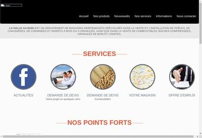 Site internet de SARL la Halle au Bois 90