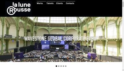 Site internet de Editions Productions de la Lune Rousse