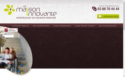 Site internet de La Maison Innovante