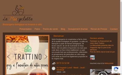 Site internet de Le Miecyclette