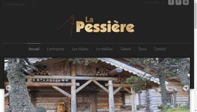 Site internet de La Pessiere