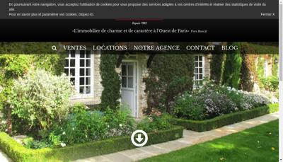 Capture d'écran du site de La Poule Faisane