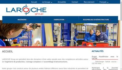 Site internet de Laroche Industries