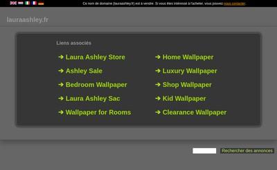 Site internet de Laura Ashley