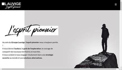 Site internet de Lauvige Emballage