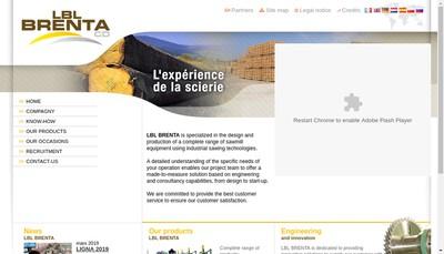 Site internet de Lbl Brenta