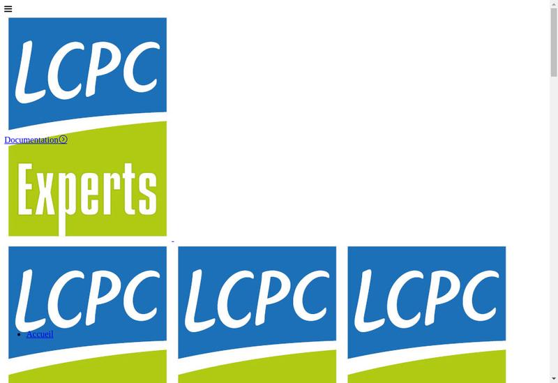 Capture d'écran du site de Lcpc Experts