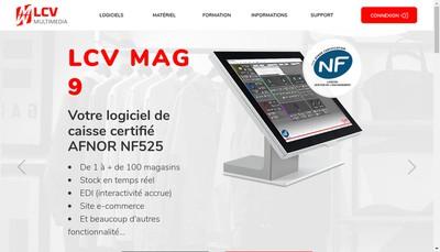 Site internet de Lcv Multimedia