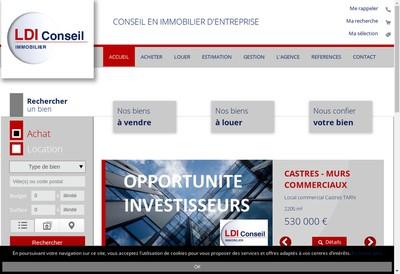 Site internet de Ldi Conseil