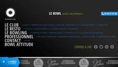 Site internet de Le Strike