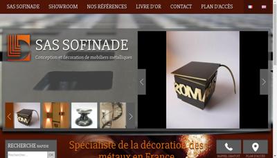 Capture d'écran du site de Le Dantec