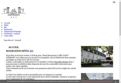 Site internet de Pre Saint Germain