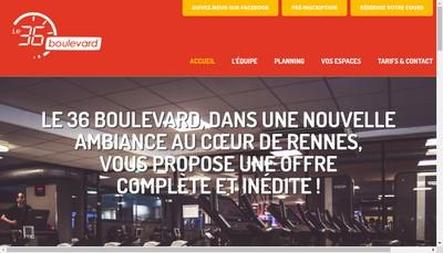 Site internet de Le 36 Boulevard