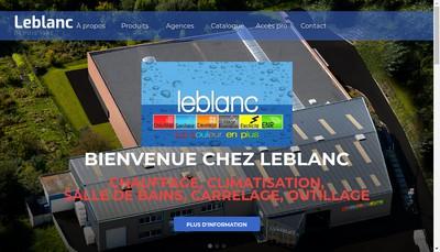 Site internet de Leblanc