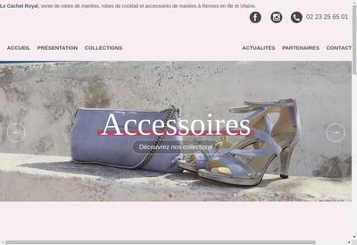 Site internet de Le Cachet Royal