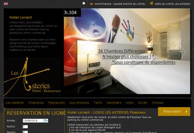 Capture d'écran du site de Ch'Ti Charivari