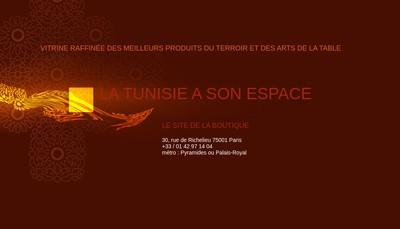 Site internet de Le Comptoir de Tunisie