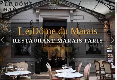 Site internet de Le Domarais