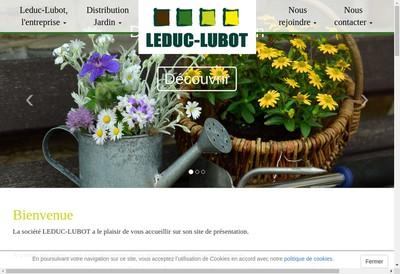 Site internet de Leduc-Lubot