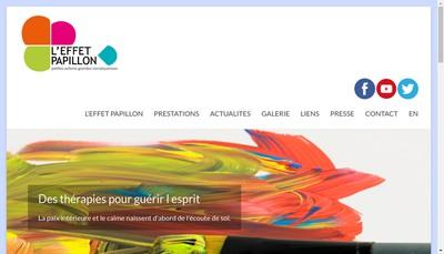 Site internet de L'Effet Papillon