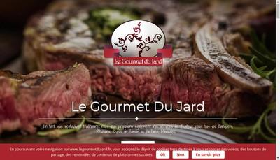 Site internet de Le Gourmet du Jard