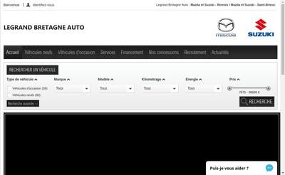 Site internet de Lb Automobiles