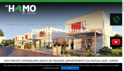 Site internet de Olister