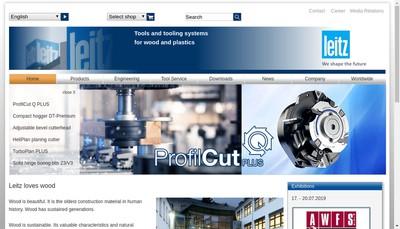 Site internet de Leitz SARL