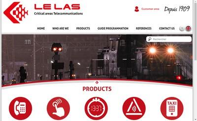 Site internet de Telephones le Las