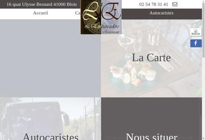 Site internet de L'Embarcadere