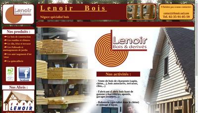 Site internet de Lenoir Bois