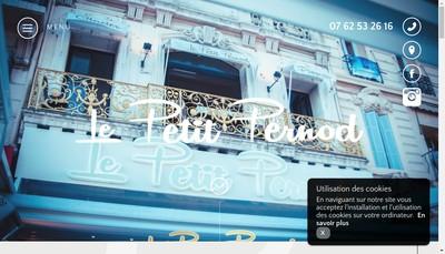 Site internet de Le Majestic