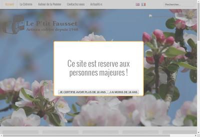 Site internet de Le P Tit Fausset