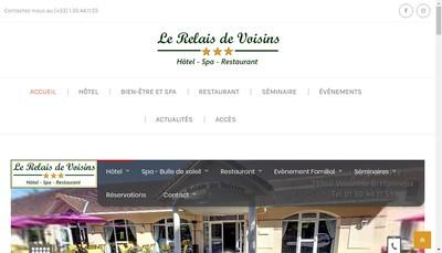 Site internet de Le Relais de Voisins
