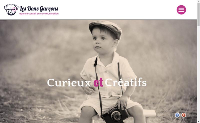 Capture d'écran du site de Les Bons Garcons