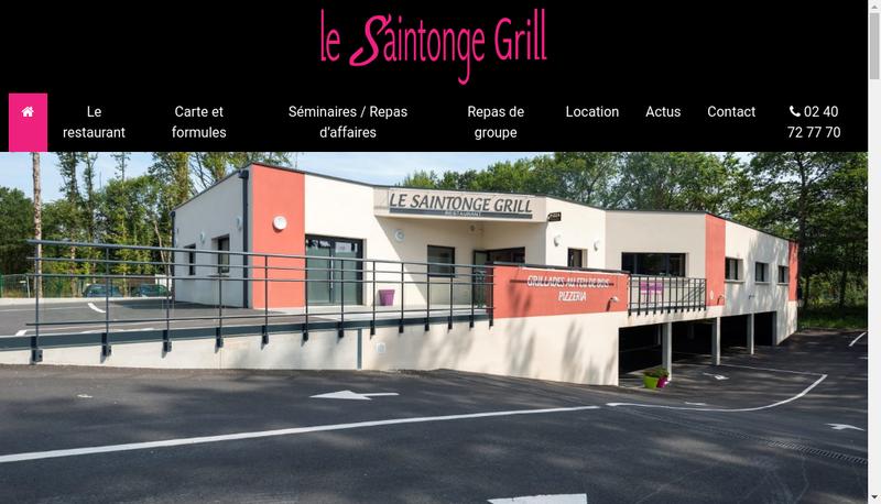 Site internet de Le Saintonge Grill