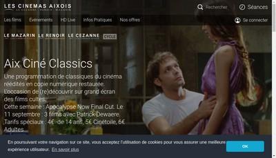 Site internet de Le Cezanne