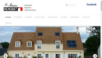 Site internet de Les Maisons Renobat