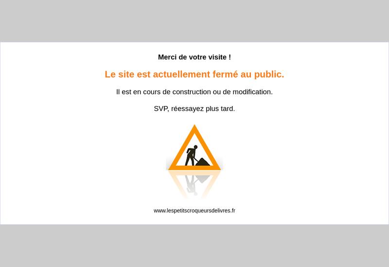 Capture d'écran du site de Editions Petits Croqueurs Livres