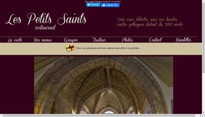 Site internet de Les Petits Saints
