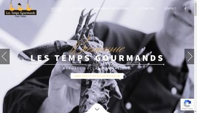 Site internet de Les Temps Gourmands